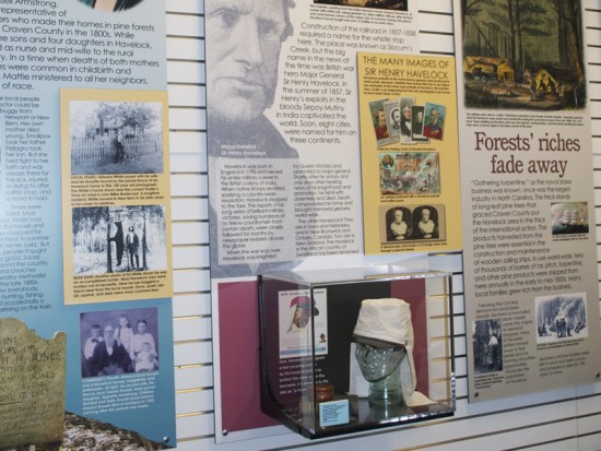 Havelock history exhibit